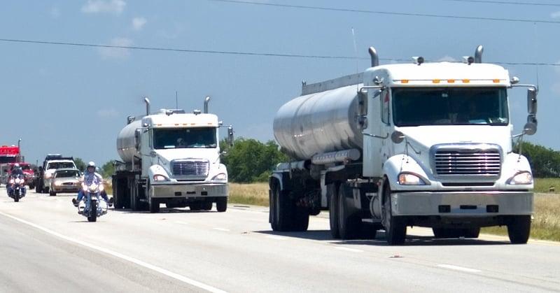 Motorcycle-Big-Truck-On-Highway-800x419